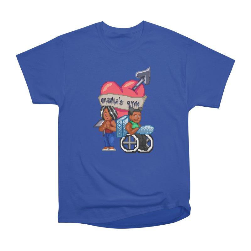 MAMA'S GYM Women's T-Shirt by 0 Ideas Studios