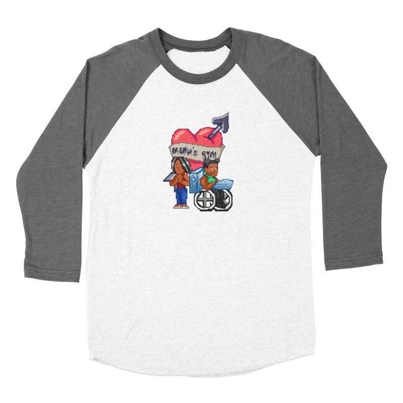 MAMA'S GYM Women's Longsleeve T-Shirt by 0 Ideas Studios