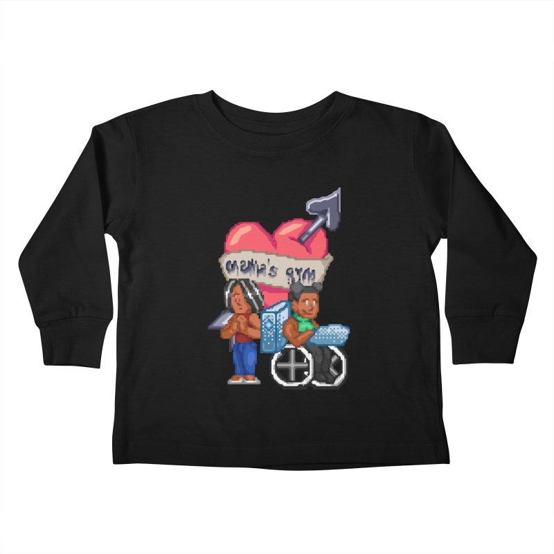 MAMA'S GYM Kids Toddler Longsleeve T-Shirt by 0 Ideas Studios