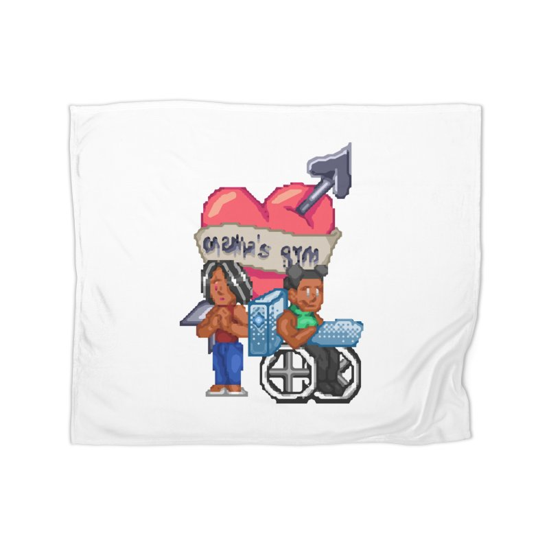 MAMA'S GYM Home Blanket by 0 Ideas Studios