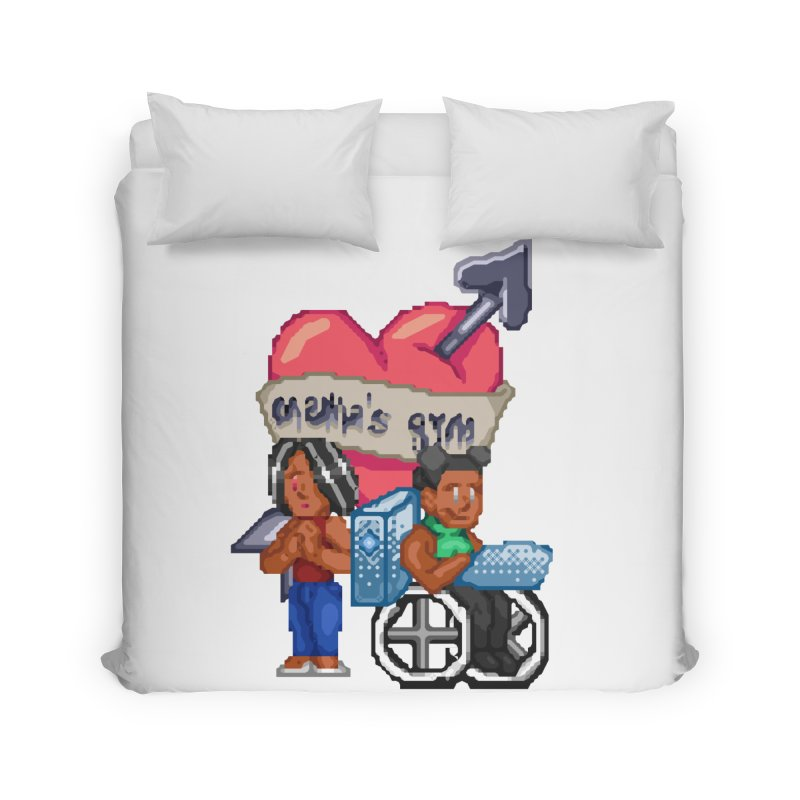 MAMA'S GYM Home Duvet by 0 Ideas Studios