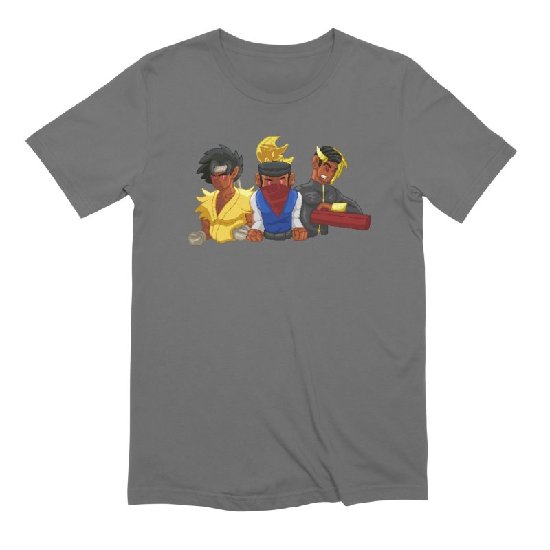 THE DAD, THE DIVINATION AND THE DRAGON SPIRIT Men's T-Shirt by 0 Ideas Studios