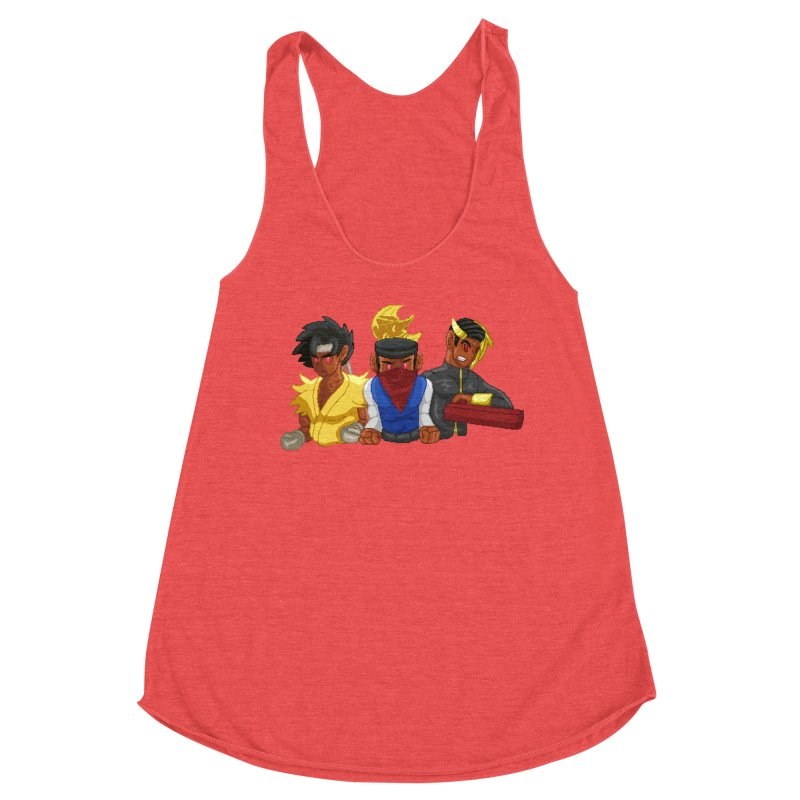 THE DAD, THE DIVINATION AND THE DRAGON SPIRIT Women's Tank by 0 Ideas Studios