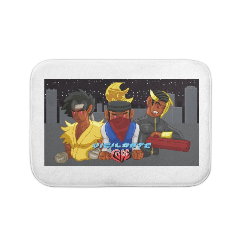 THE DAD, THE DIVINATION AND THE DRAGON SPIRIT Home Bath Mat by 0 Ideas Studios
