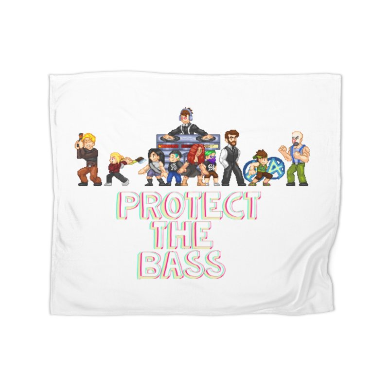 PROTECT THE BASS Home Blanket by 0 Ideas Studios