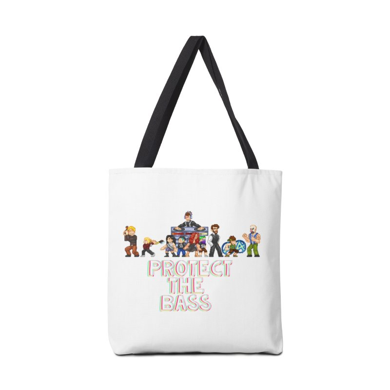 PROTECT THE BASS Accessories Bag by 0 Ideas Studios