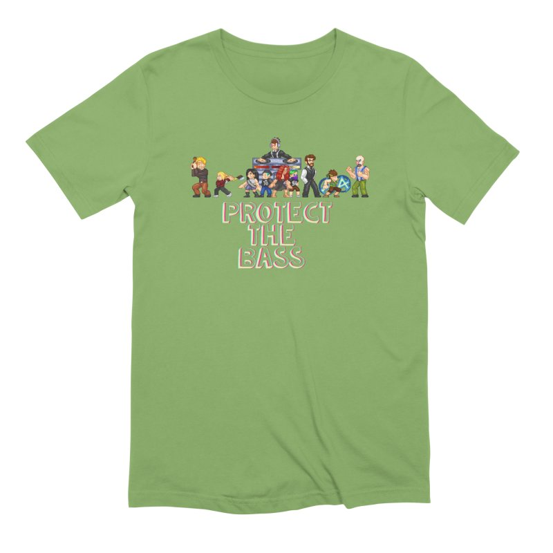 PROTECT THE BASS Men's T-Shirt by 0 Ideas Studios