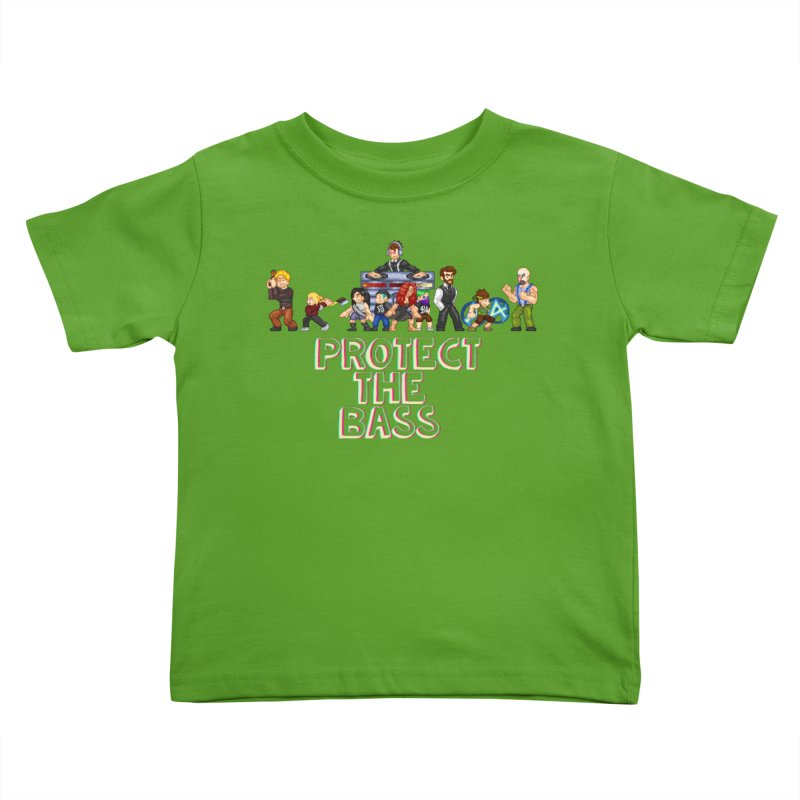 PROTECT THE BASS Kids Toddler T-Shirt by 0 Ideas Studios