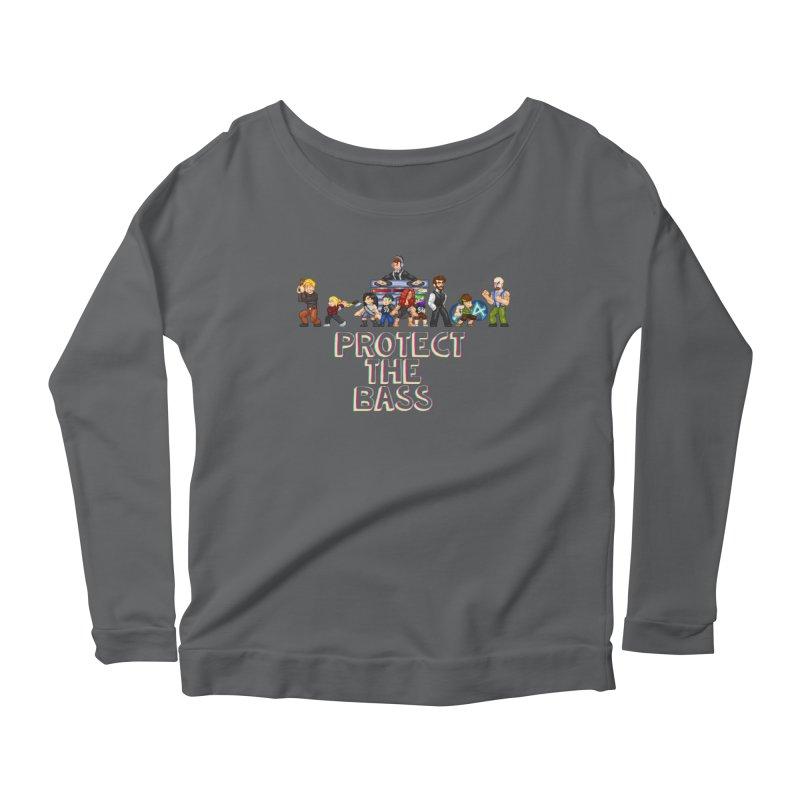 PROTECT THE BASS Women's Longsleeve T-Shirt by 0 Ideas Studios
