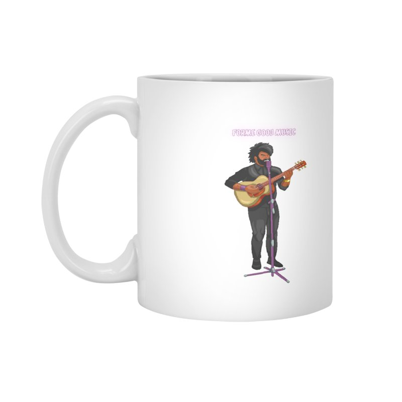 FORME GOOD MUSIC Accessories Mug by 0 Ideas Studios