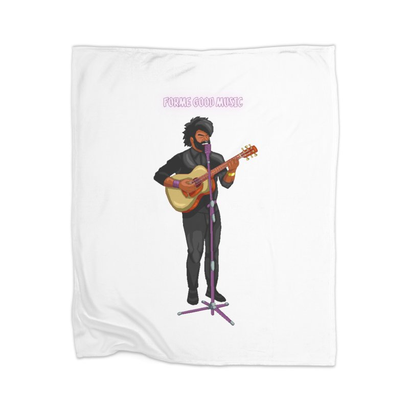 FORME GOOD MUSIC Home Blanket by 0 Ideas Studios