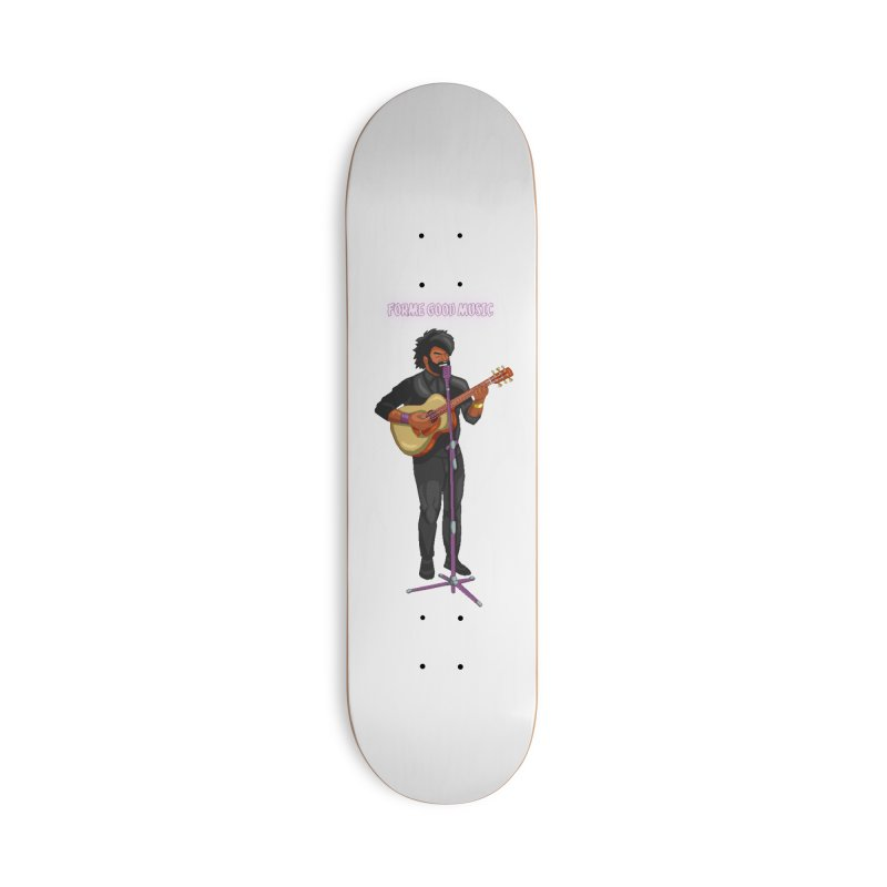 FORME GOOD MUSIC Accessories Skateboard by 0 Ideas Studios