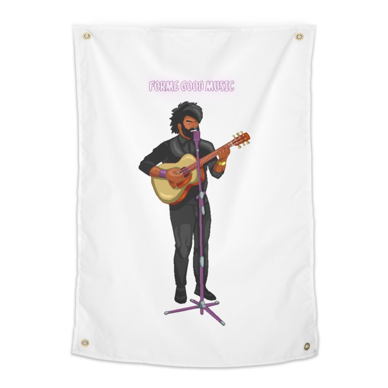 FORME GOOD MUSIC Home Tapestry by 0 Ideas Studios