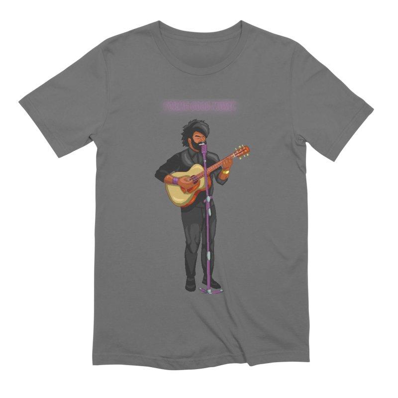 FORME GOOD MUSIC Men's T-Shirt by 0 Ideas Studios