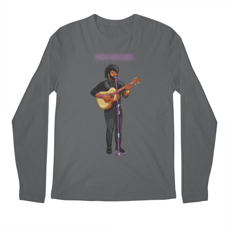 FORME GOOD MUSIC Men's Longsleeve T-Shirt by 0 Ideas Studios
