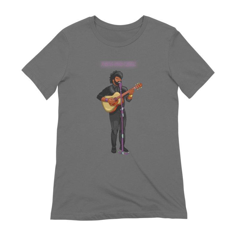 FORME GOOD MUSIC Women's T-Shirt by 0 Ideas Studios