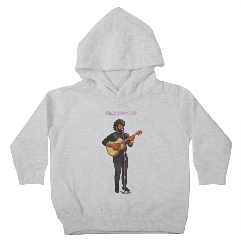 FORME GOOD MUSIC Kids Toddler Pullover Hoody by 0 Ideas Studios