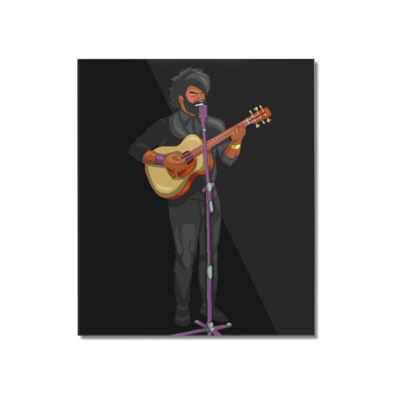 FORME GOOD MUSIC Home Mounted Acrylic Print by 0 Ideas Studios