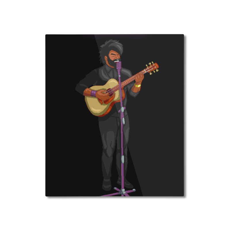 FORME GOOD MUSIC Home Mounted Aluminum Print by 0 Ideas Studios