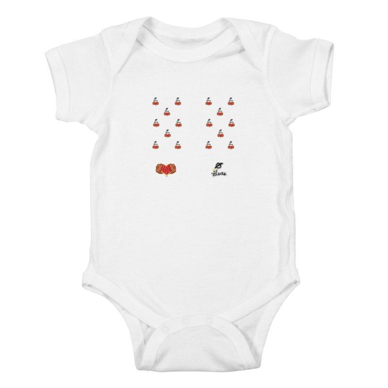 Love 0 Ideas Kids Baby Bodysuit by 0 Ideas Studios