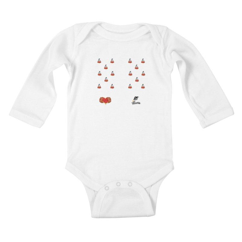 Love 0 Ideas Kids Baby Longsleeve Bodysuit by 0 Ideas Studios