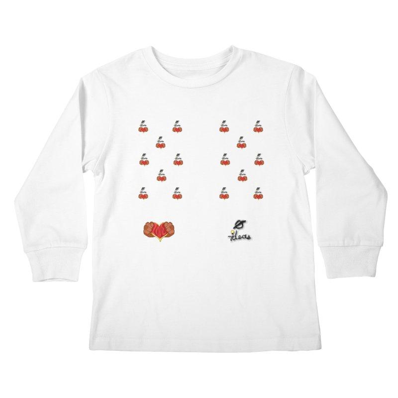 Love 0 Ideas Kids Longsleeve T-Shirt by 0 Ideas Studios