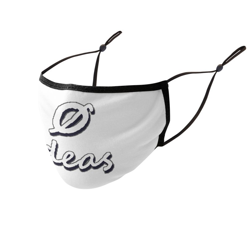 0 Ideas Alt Logo Accessories Face Mask by 0 Ideas Studios