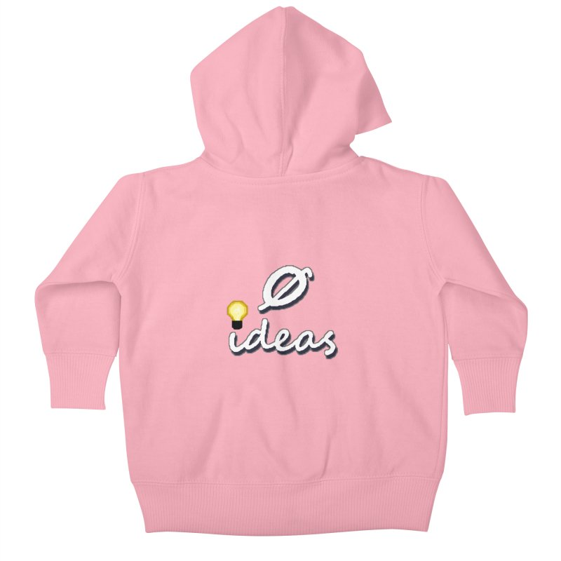 0 Ideas Alt Logo Kids Baby Zip-Up Hoody by 0 Ideas Studios