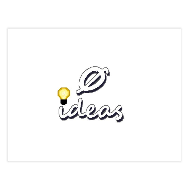 0 Ideas Alt Logo Home Fine Art Print by 0 Ideas Studios