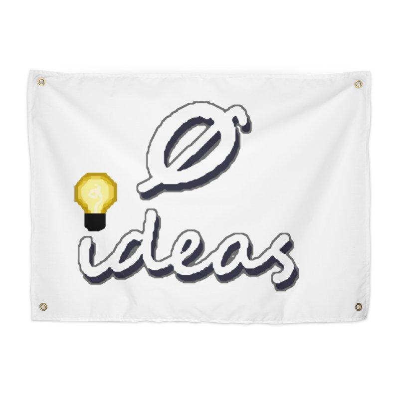 0 Ideas Alt Logo Home Tapestry by 0 Ideas Studios