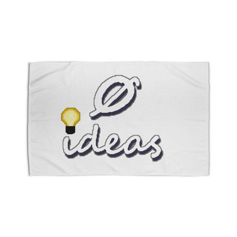 0 Ideas Alt Logo Home Rug by 0 Ideas Studios