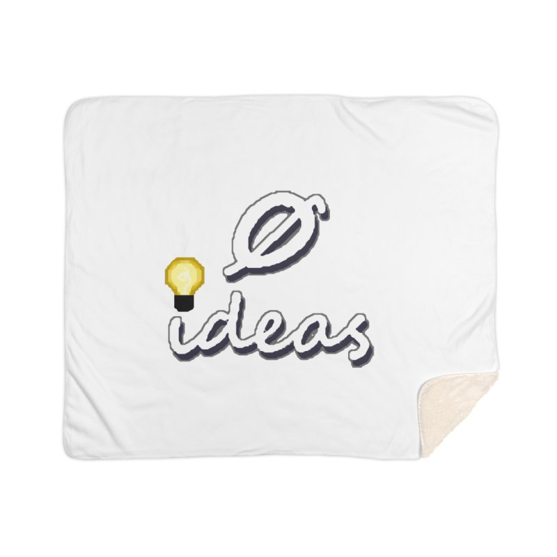 0 Ideas Alt Logo Home Blanket by 0 Ideas Studios