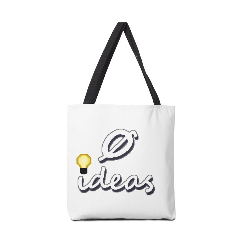 0 Ideas Alt Logo Accessories Bag by 0 Ideas Studios