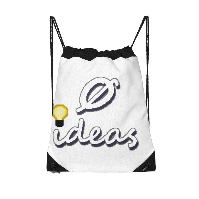 0 Ideas Alt Logo Accessories Bag by 0 Ideas Studios
