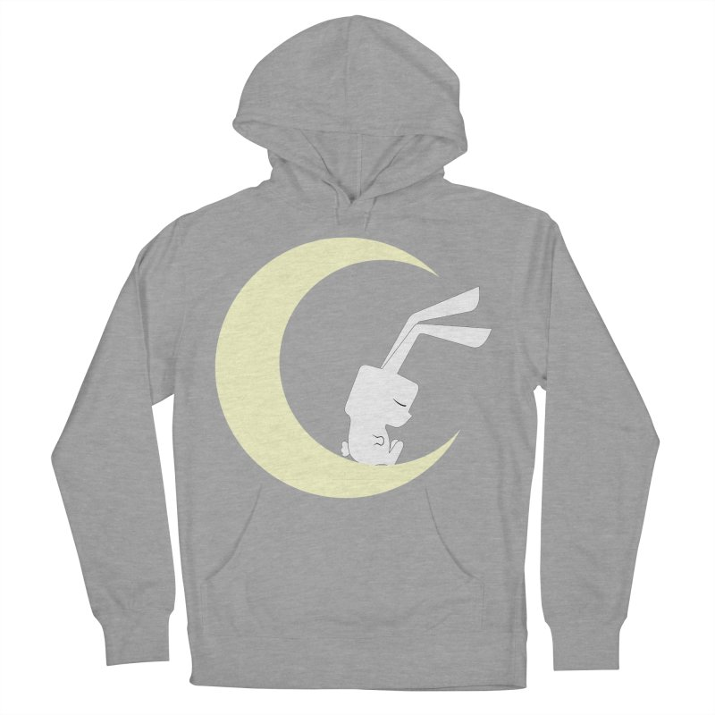 On the moon Men's Pullover Hoody by 1001 bunnies