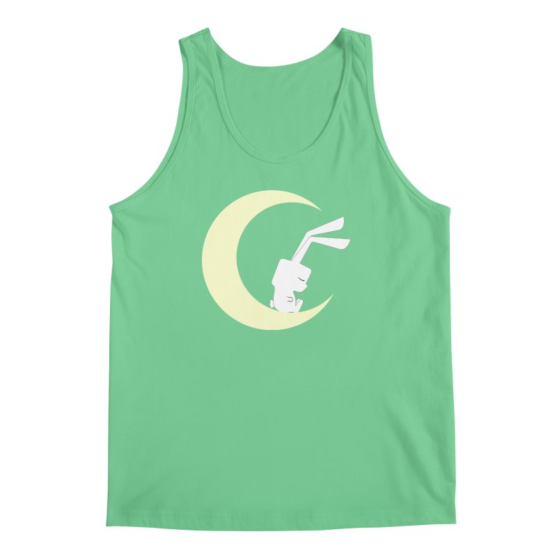 On the moon Men's Tank by 1001 bunnies