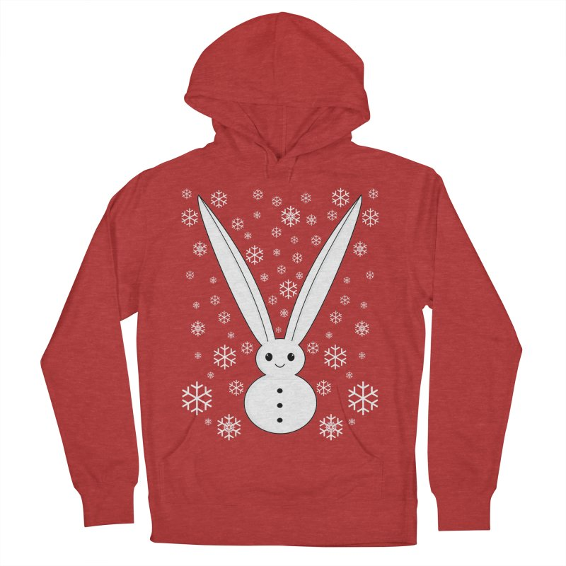 Snow bunny Women's Pullover Hoody by 1001 bunnies