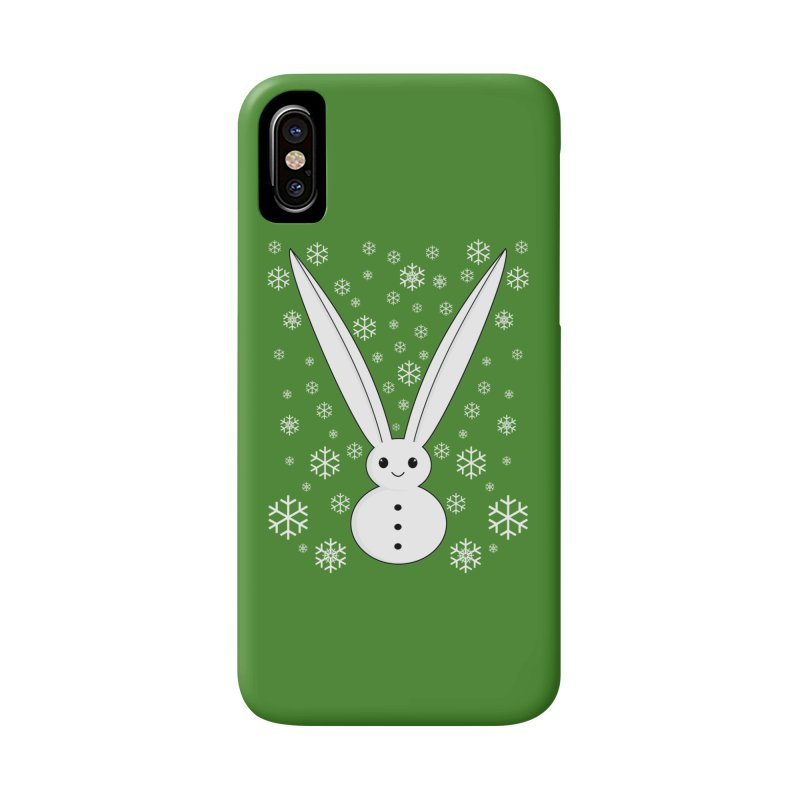 Snow bunny Accessories Phone Case by 1001 bunnies