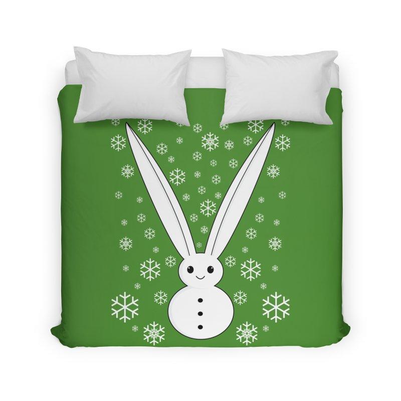 Snow bunny Home Duvet by 1001 bunnies