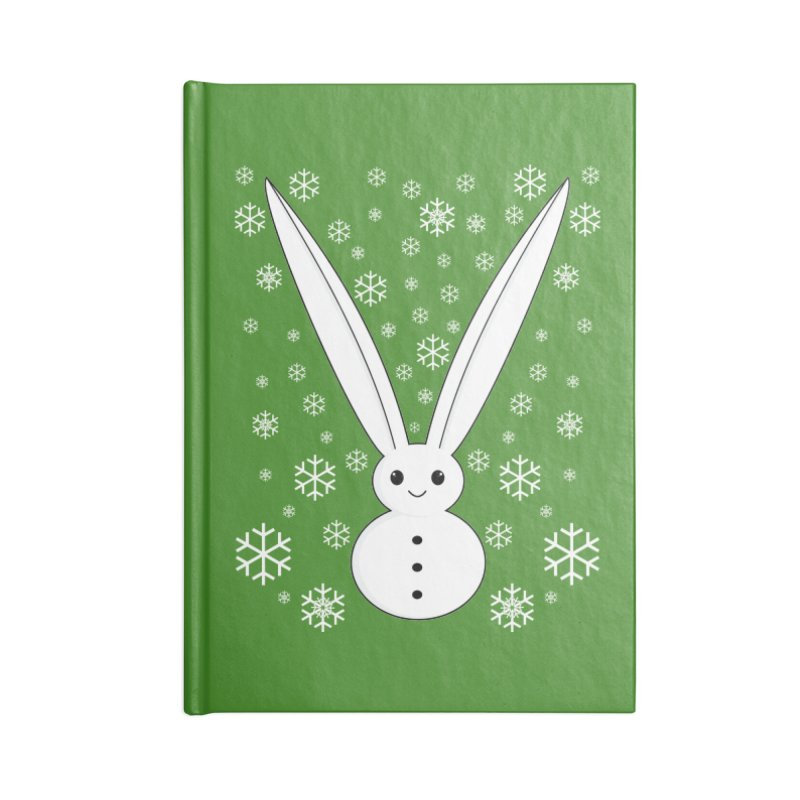 Snow bunny Accessories Notebook by 1001 bunnies