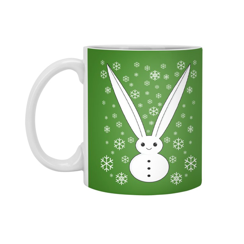 Snow bunny Accessories Mug by 1001 bunnies