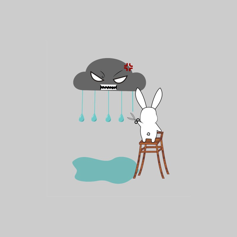 Stopping the rain None  by 1001 bunnies
