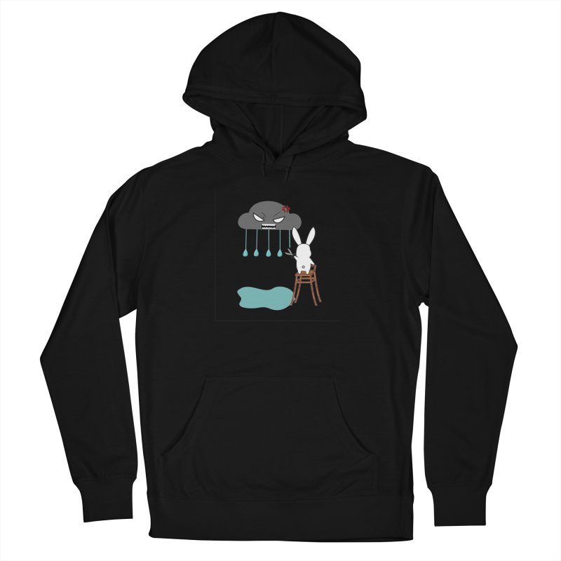 Stopping the rain Women's Pullover Hoody by 1001 bunnies