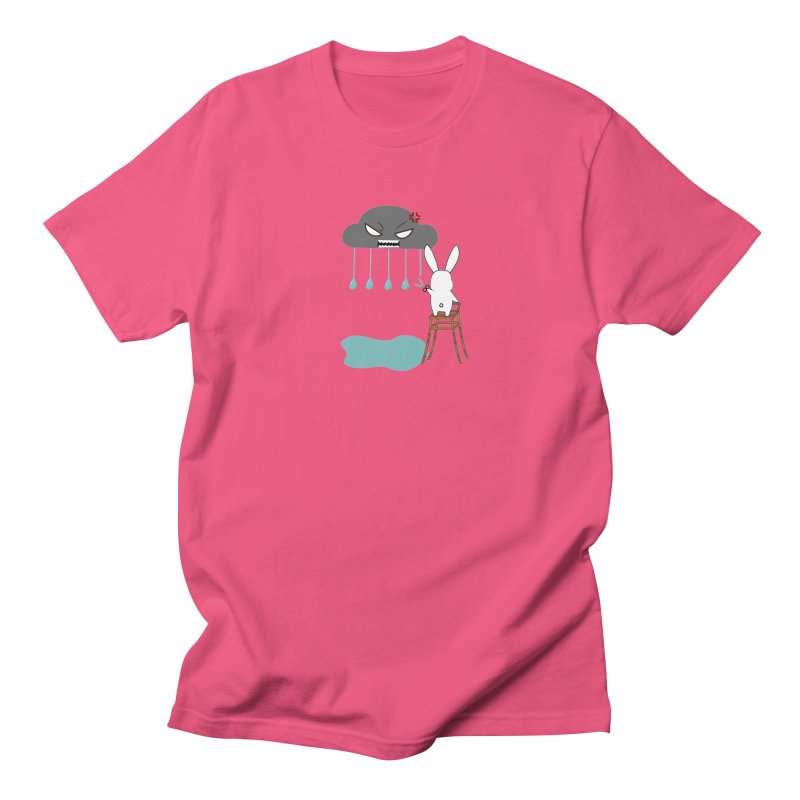 Stopping the rain Women's Unisex T-Shirt by 1001 bunnies