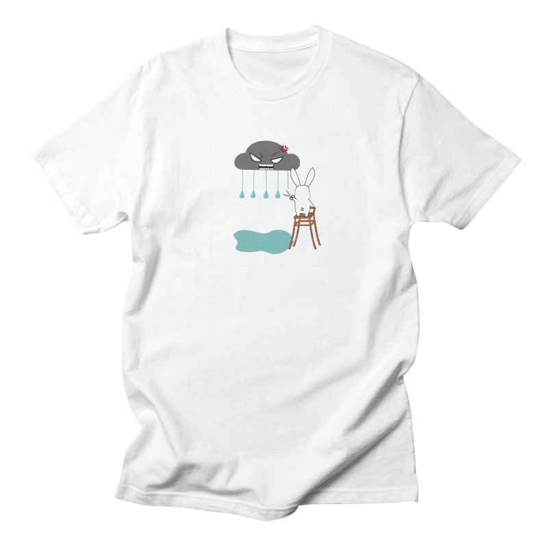 Stopping the rain Men's T-shirt by 1001 bunnies