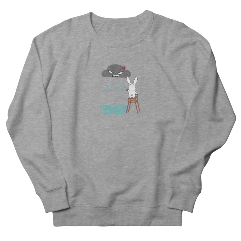 Stopping the rain Women's Sweatshirt by 1001 bunnies