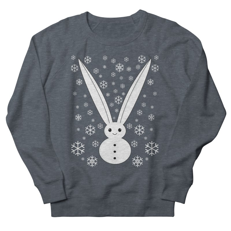 Snow bunny  Men's Sweatshirt by 1001 bunnies