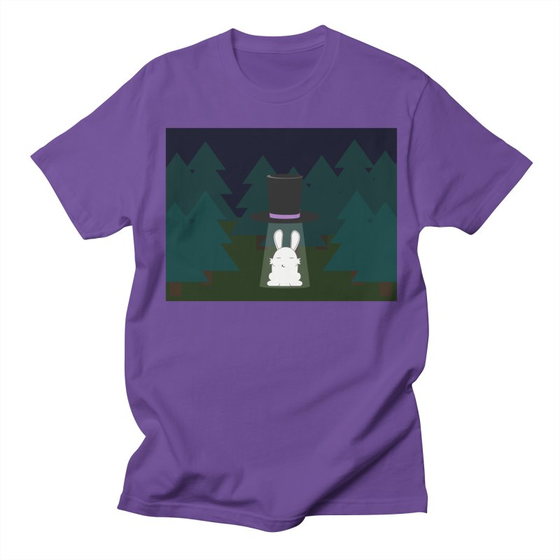 the abduction of Mr. Rabbitson Women's Unisex T-Shirt by 1001 bunnies