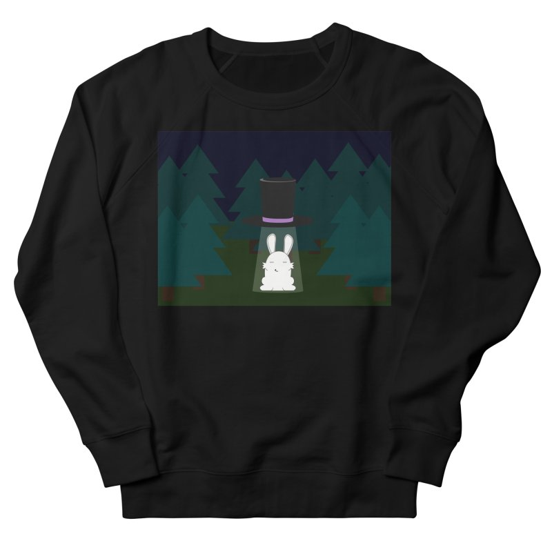 the abduction of Mr. Rabbitson Men's Sweatshirt by 1001 bunnies