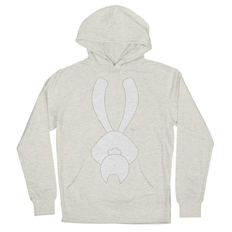 Refuse Men's Pullover Hoody by 1001 bunnies